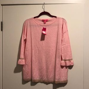 Lily Pulitzer pink sweater